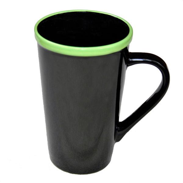 120-527 Horizon Latte w/ green Trim