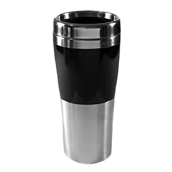 120-500stainless half & half black